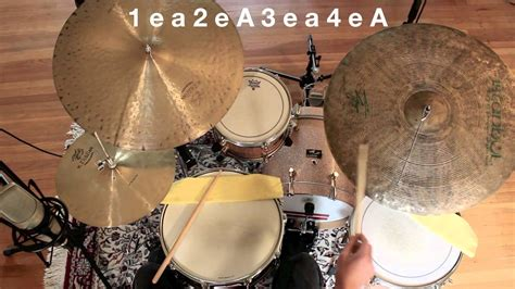 drum tutorial com drum tutorial jazz drumming the basic pattern