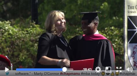 Surprised With Honorary Mba by After Earns An Mba A Master S In Parenthood For
