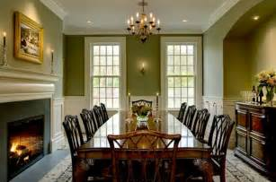 Dining Room Paint Color Ideas Enchanting Green Paint Color Ideas For Dining Room With