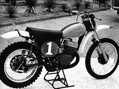 first motocross bike honda s greatest bike the cr250r two stroke dirt bike