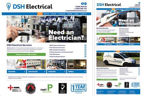 website design free uk tradesman website bromsgrove exle electricians website