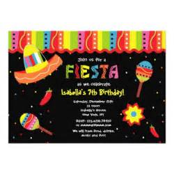 mexican birthday invitations 5 quot x 7 quot invitation card zazzle
