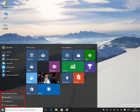 bureaux virtuels windows 7 windows 10 build 10061