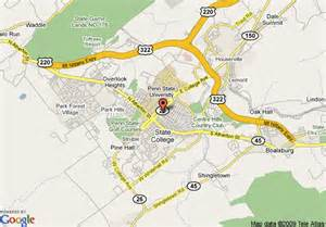 college and state map college state college park map