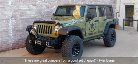 Build Your Jeep Wrangler Build Your Own Rugged Jeep Frame Built Modular Bumper