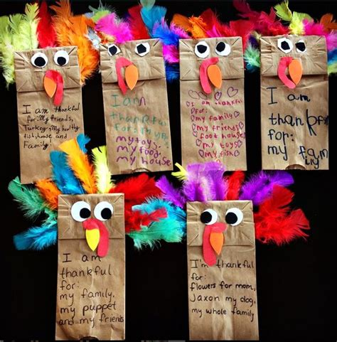 How To Make A Paper Bag Turkey - 17 best images about thanksgiving activities on