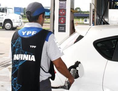 el gobierno promulg 243 los nuevos valores de las ypf aument 243 la nafta por 6 186 vez en el a 241 o estos son los