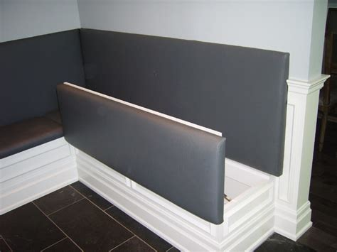 banquette bench with storage built in banquette contemporary dining room toronto