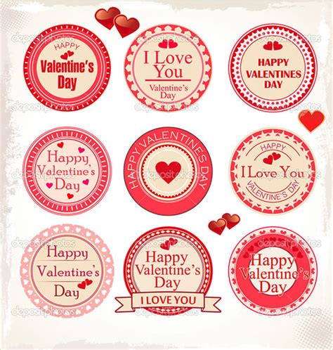 sle valentines day labels template 29 download