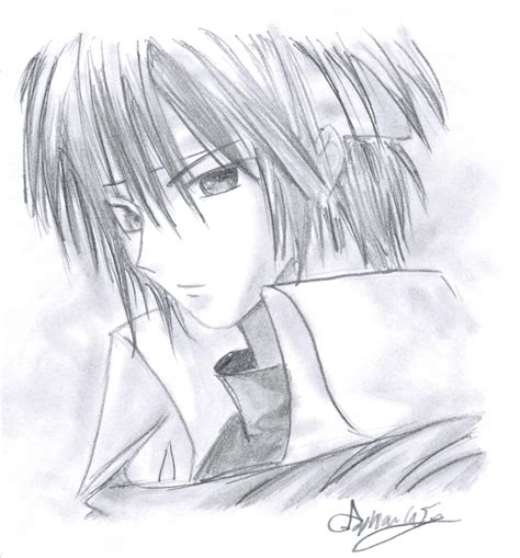 Best Pencil Drawings Best Pencil Sketches Anime Boy Pictures Drawing Of Sketch