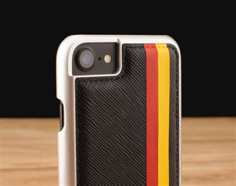 Iphone 7 7 Volcom Stripe Black Cover Casing Hardcase custom handcrafted apple iphone 7 genuine leather back