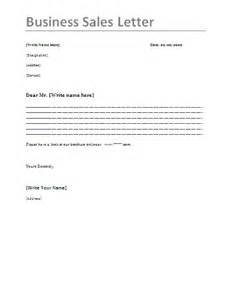 Sle Letter Business Cover Letter 9 Sales Letter Format Dentist Resumes