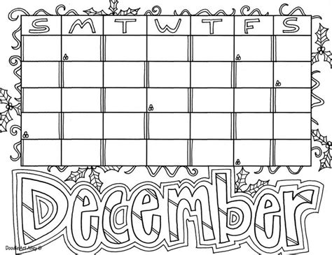 december calendar coloring pages 17 best images about month coloring on pinterest colors