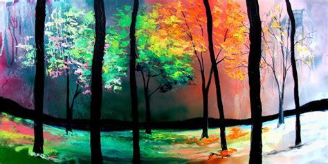 Painting 4 Seasons by The Four Seasons By Sagittariusgallery On Deviantart