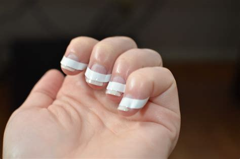 Gel Nails With Tips by Diy Tip Gel Shellac Nails Warfieldfamily
