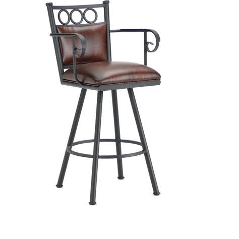 bar stools counter height with arms waterson 26 quot counter stool with arms