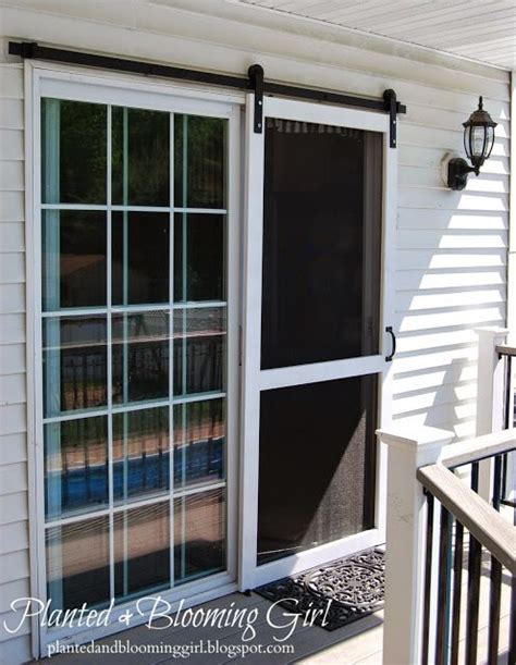 sliding screen door frame best 10 sliding screen doors ideas on sliding