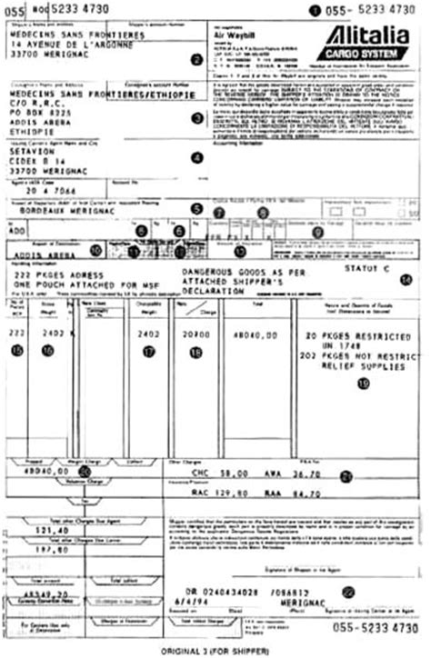 air waybill template airway bill related keywords suggestions airway bill