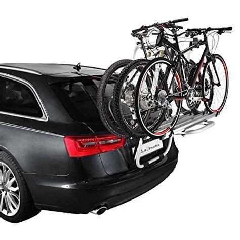 porta bici da auto portabici posteriore althura in alluminio per 3 bici