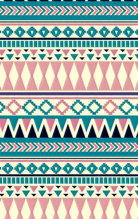 tribal pattern pastel wallpaper light pink and blue tribal print wallpapers pinterest