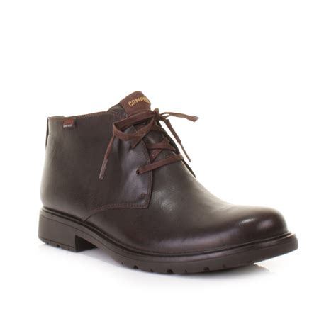 mens ankle boots mens brown leather ankle boots cr boot
