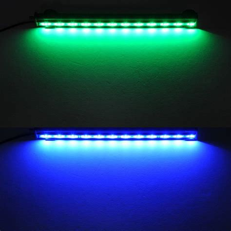 Fish Tank Led Light Strips Crzdeal 174 Underwater Aquarium Led Light Bar Flood Light Airstone For Fish