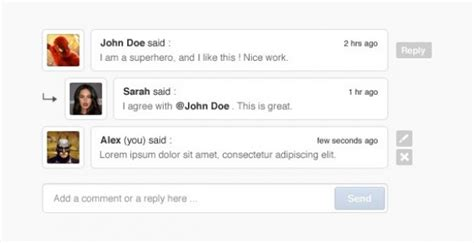 comment section in html clean blog post comment section psd freebie psdfinder co