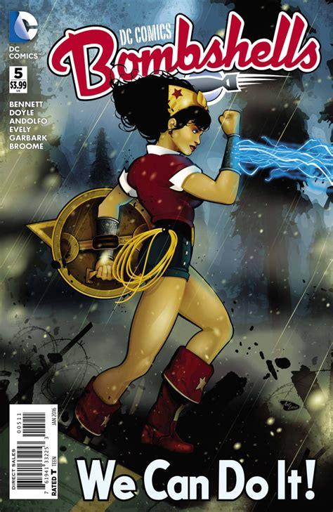 Reon Comics Vol 5 dc comics bombshells vol 1 5 dc database fandom powered by wikia