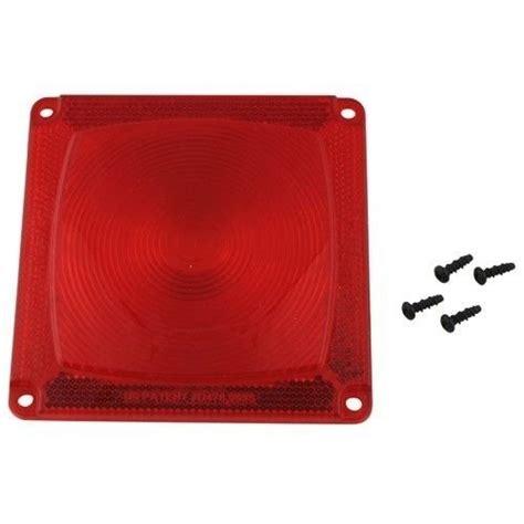 wesbar boat trailer tail lights wesbar 403335 boat utility trailer red tail light lens ebay