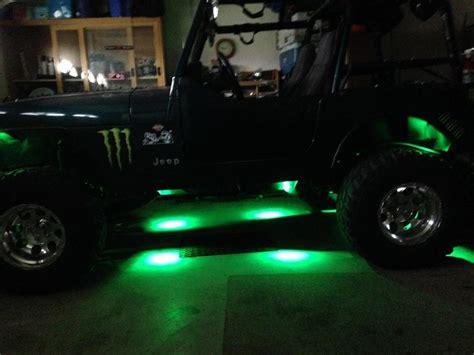 Jeep Rock Lights Jeep Jk Wrangler Lighting Strictly Wrangler 07 17 Jeep