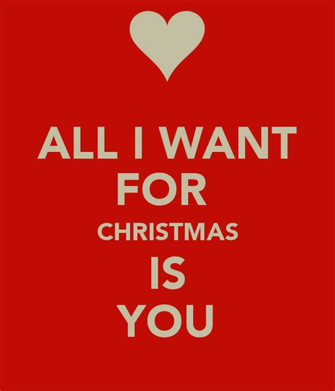 All I Want For It by All I Want For Is You Poster Pati Keep Calm