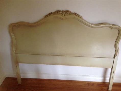 french provincial headboards double french provincial headboard in antique white oak