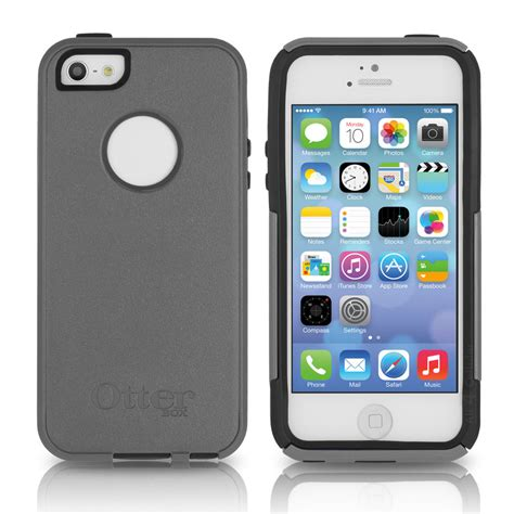 iphone otterbox otterbox iphone se 5s 5 commuter marine gray blue cover oem new original ebay