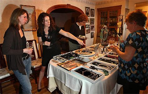party at home at home parties with a retail twist boston com