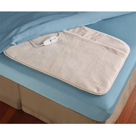 bed warmer pad the foot of the bed warmer hammacher schlemmer