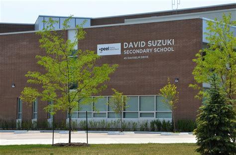 david suzuki secondary school opens in brton ontario