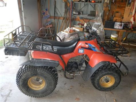 Suzuki Four Wheelers For Image Gallery Suzuki 230 4 Wheeler