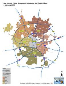 san antonio city map substations map