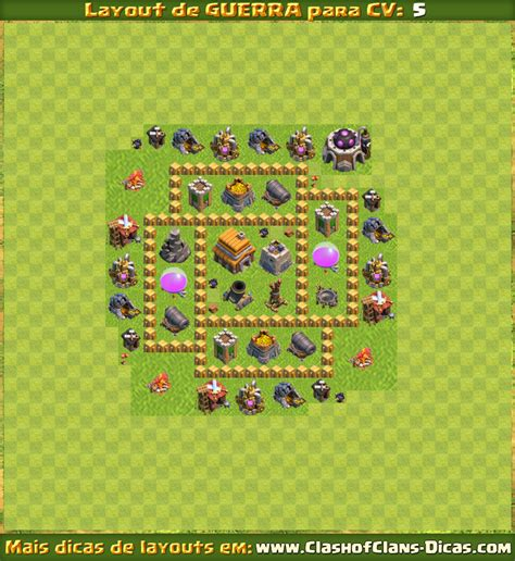 layout cv nv 5 layouts para cv5 em guerra clash of clans dicas gemas