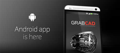 3d app android grabcad android app released gt engineering