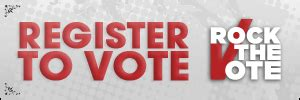 the way we all register to vote has changed rushden town voice election day nears register now to vote