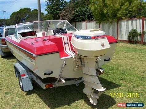 vintage ski boats for sale australia pride firebird 1968 retro ski boat for sale in australia