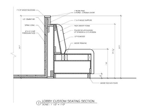 built in banquette dimensions banquette detail google search documentation