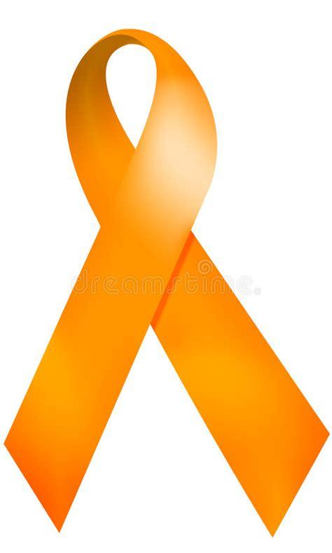 ms ribbon color orange ribbon stock illustration illustration of orange