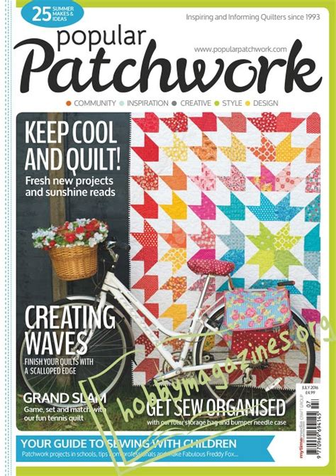 Popular Patchwork - popular patchwork july 2016 187 hobby magazines free