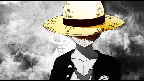 One piece straw hat wallpapers
