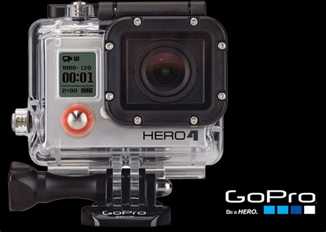 Gopro 4 New gopro hero4 goes 4k 30fps or touchscreen display options
