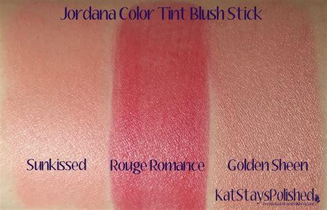 Jordana Color Tint Blush Stick Sunkissed stays polished with a dash of