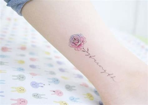 flower with name tattoo 63 fabulous feminine design ideas