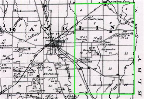 Johnson County Indiana Records Shelby County Indiana History Genealogy Courthouse Johnson County Indiana Map